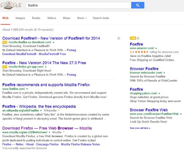 google foxfire