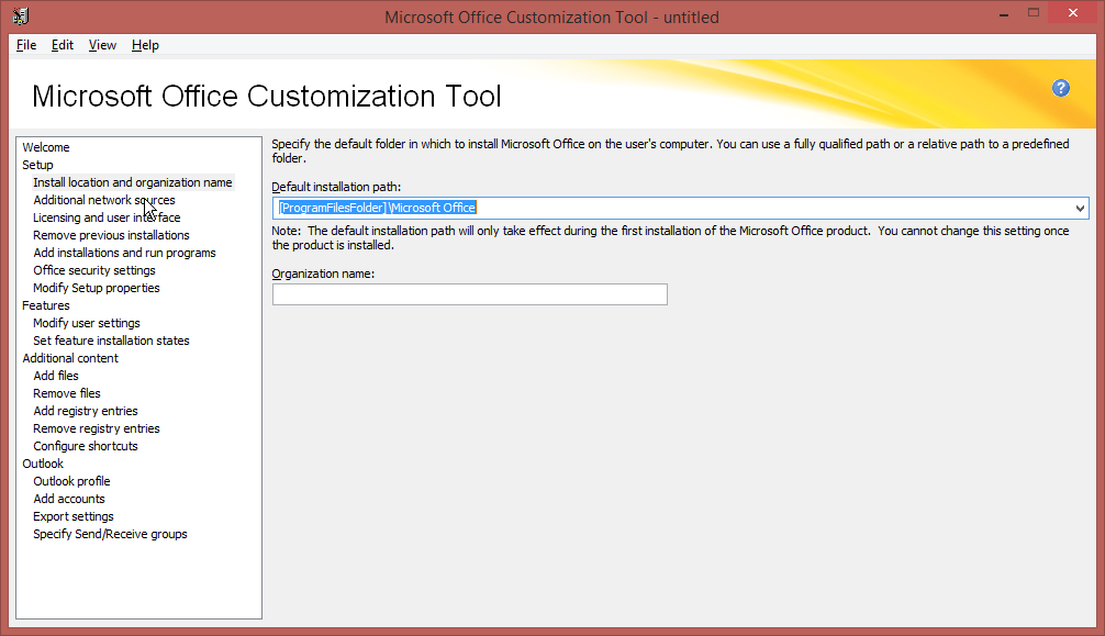 office 2016 admx files install