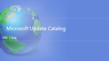 Microsoft Update Catalog now compatible with other browsers besides Internet Explorer