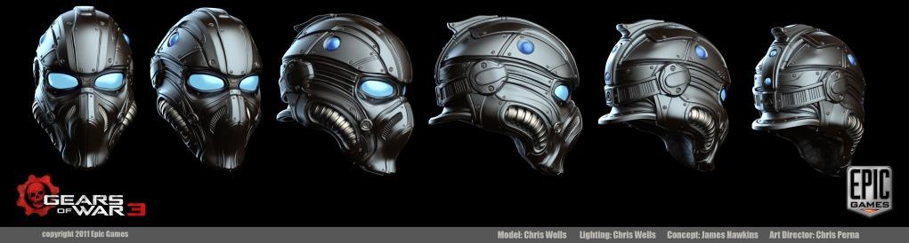 All Gears Of War COG Helmets NoobWIP PS Not