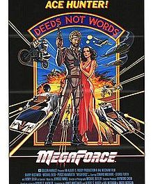 MegaForce Movie Poster
