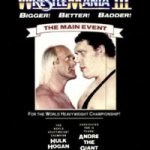 WrestleMania III – Front Page Action