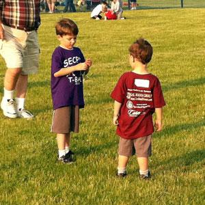 The Boys On The Teeball Field