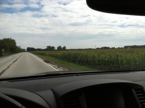 Corn On I-70