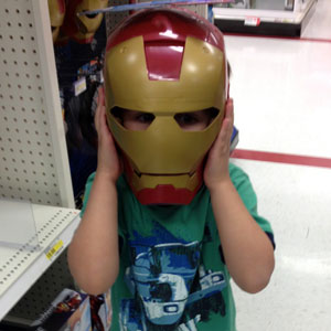 C As Iron Man
