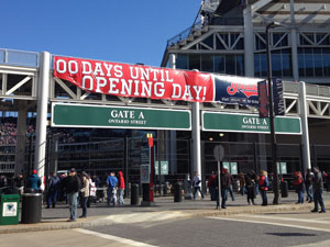 Cleveland Indians Opening Day 2012