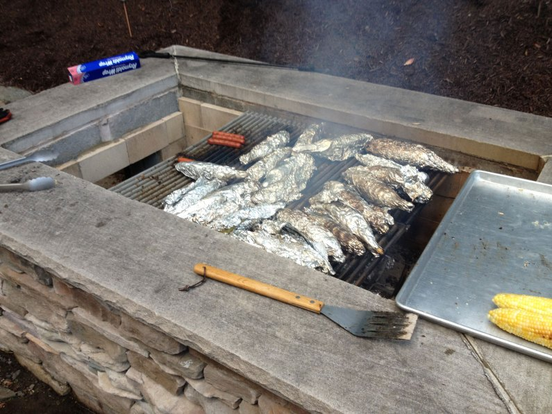 Clambake 2012 - Corn On The Grill