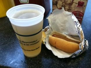 Progressive Field - Beer & Hot Dog