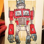Optimus Ugly courtesy of the great John (Super Ugly) Williams