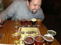 Chewie With The Great Lakes Brewery Flight