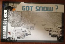 Got Snow 2013 Flyer Front