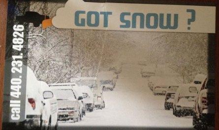 Got Snow 2013 Flyer Front