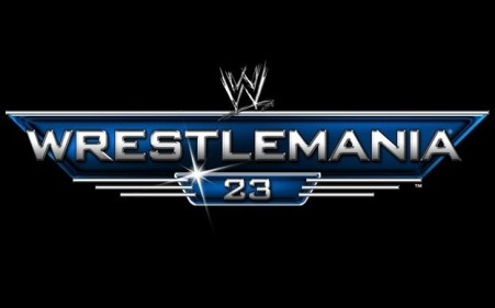 WrestleMania 23 Logo