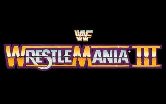 WrestleMania 3 Logo