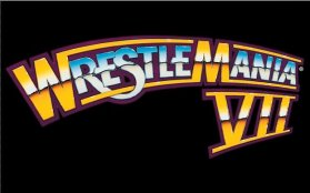 WrestleMania 7 Logo