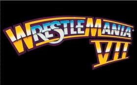 WrestleMania 7 Logo