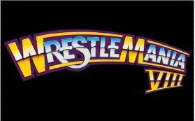 WrestleMania 8 Logo