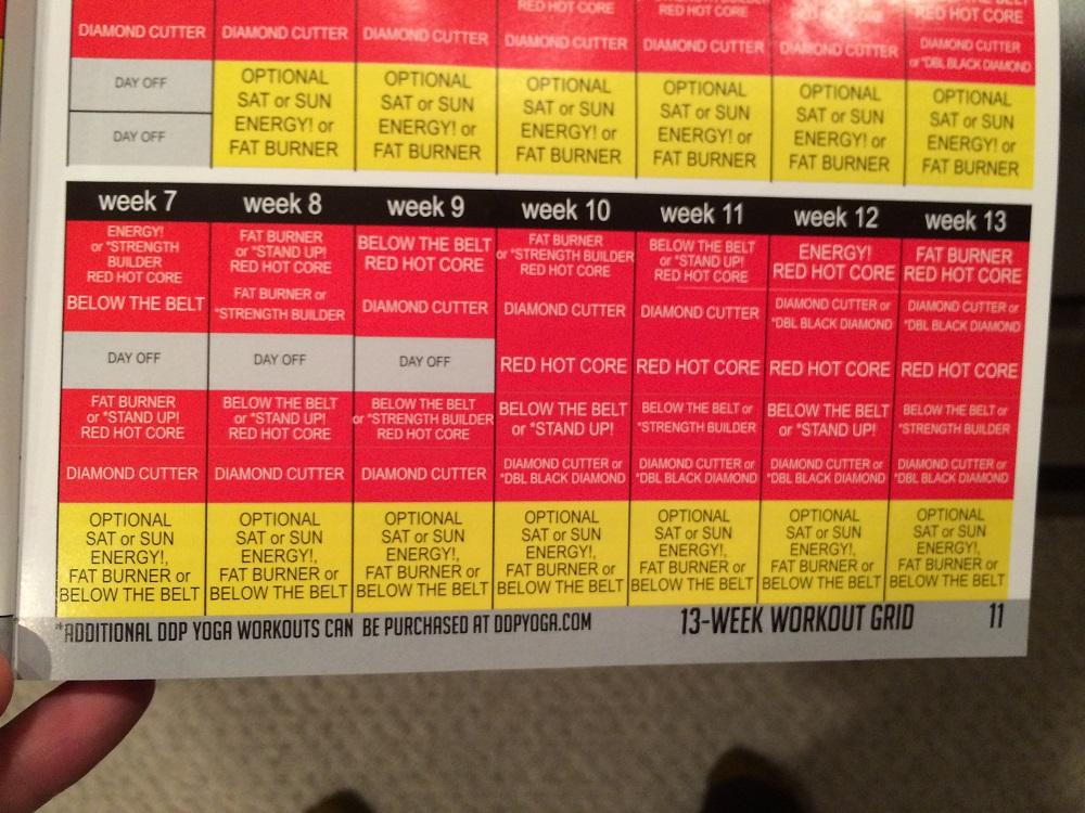 DDP Yoga Advanced - Week 7-13