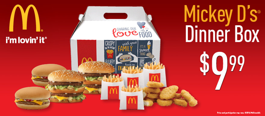 Death In Box Mcdonald S Dinner Box The 411 From 406
