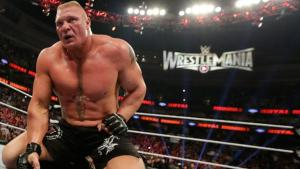 Lesnar At The Rumble