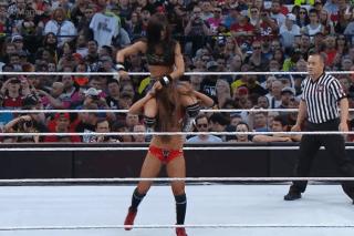 WrestleMania 31 - AJ & Bella