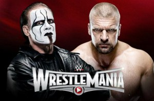 WrestleMania 31 - Sting Vs Triple H