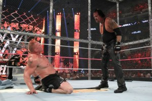 Hell In A Cell 2015 - Lesnar v Undertaker