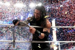 Survivor Series 2015 - Ambrose vs Reigns