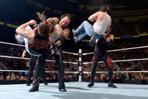 Survivor Series 2015 - Taker Kane vs Wyatts