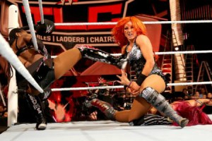 TLC 2015 - Sasha Banks vs Becky Lynch