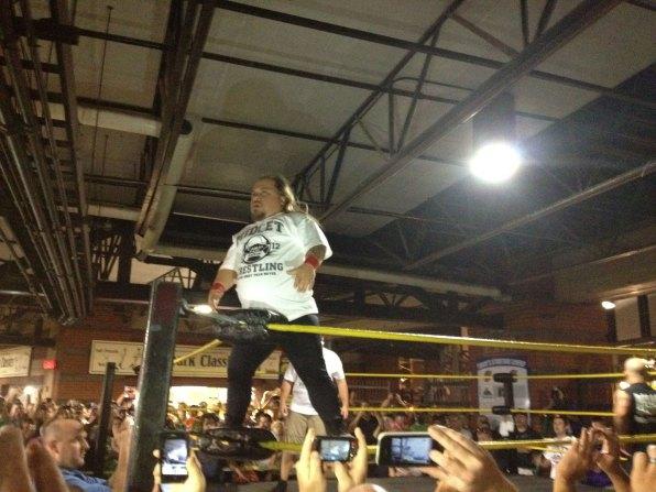 Midget Wrestling 2012 - Bobby Corner