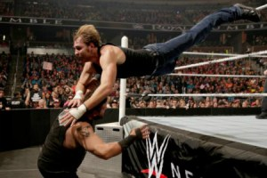 Royal Rumble 2016 - Dean Ambrose vs Kevin Owens