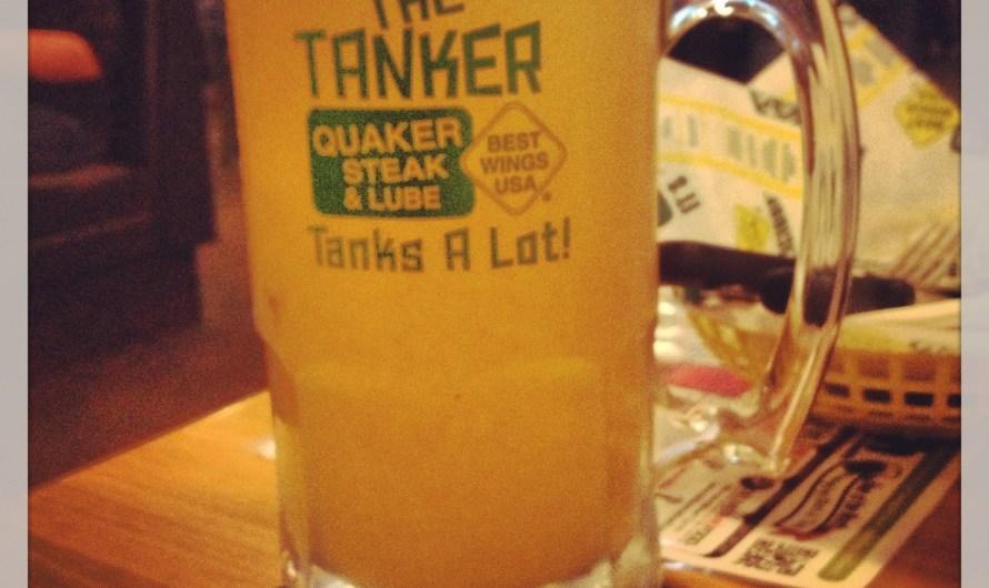 Summer Shandy at Quaker Steak & Lube