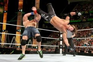 MITB 2016 AJ Styles vs John Cena
