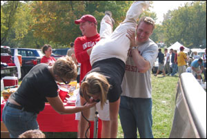 Patricia taking keg stands to new heights