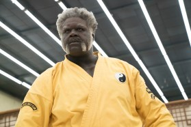 "Shaquille O Neal as ""Big Fella"" in UNCLE DREW. Photo courtesy of Lionsgate."