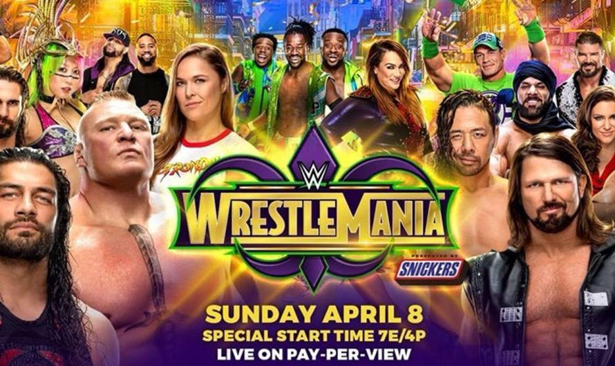WrestleMania 34 (2018) – Back To The Big Easy