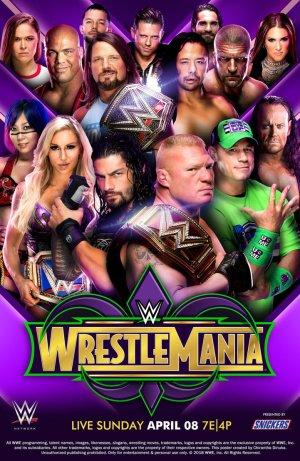 WrestleMania 34 Poster
