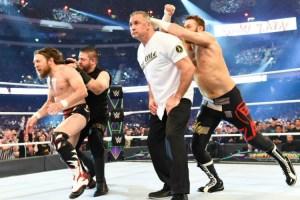 WrestleMania 34 - Shane, Daniel, Sami & Kevin