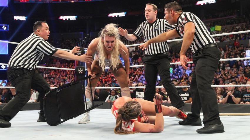 Survivor Series (2018) - Flair vs. Rowsey