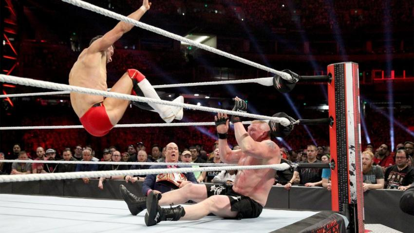 2019 Royal Rumble - Balor vs. Lesnar
