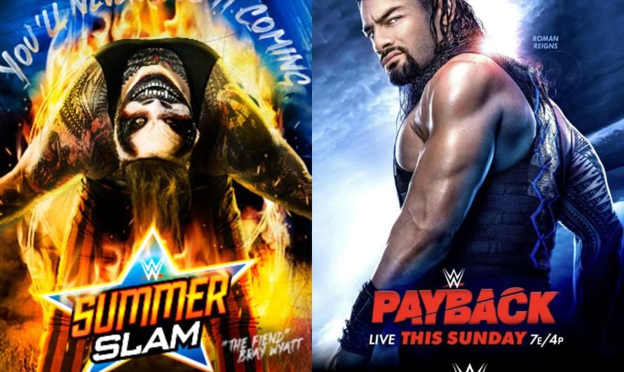 SummerSlam and Payback (2020) – Back to Back Sundays