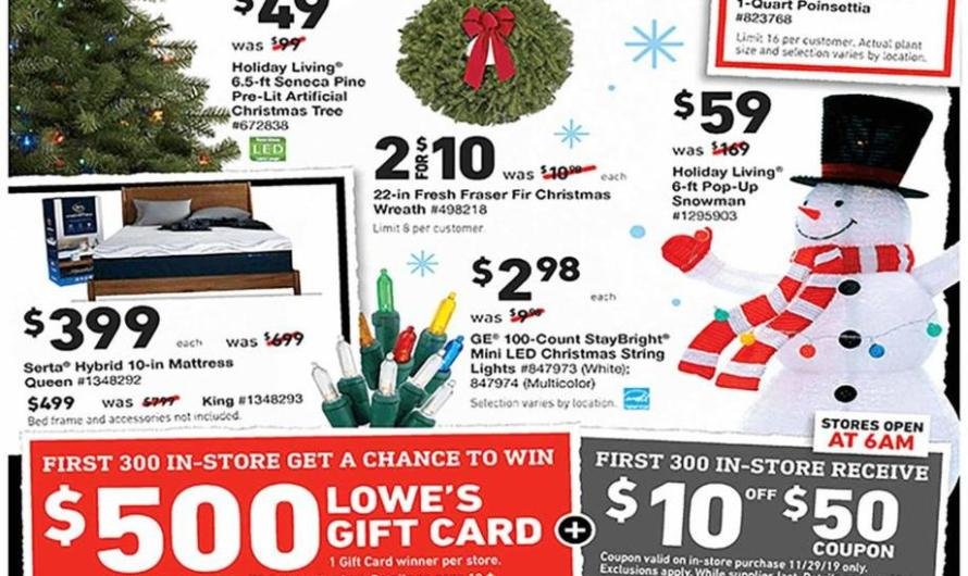 Black Friday Is Almost Here – Lowe's Is the Place To Be