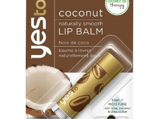 Say Yes Coconut Lip Balm Review