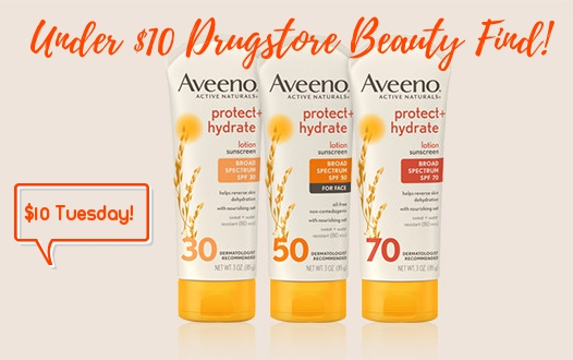 aveeno protect and hydrate spf 50 review
