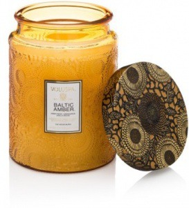 VoluSpa Japonica Baltic Amber Candle