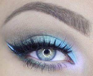 Powder Blue Eyeshadow