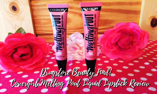 Covergirl Melting Pout Liquid Lipstick Review
