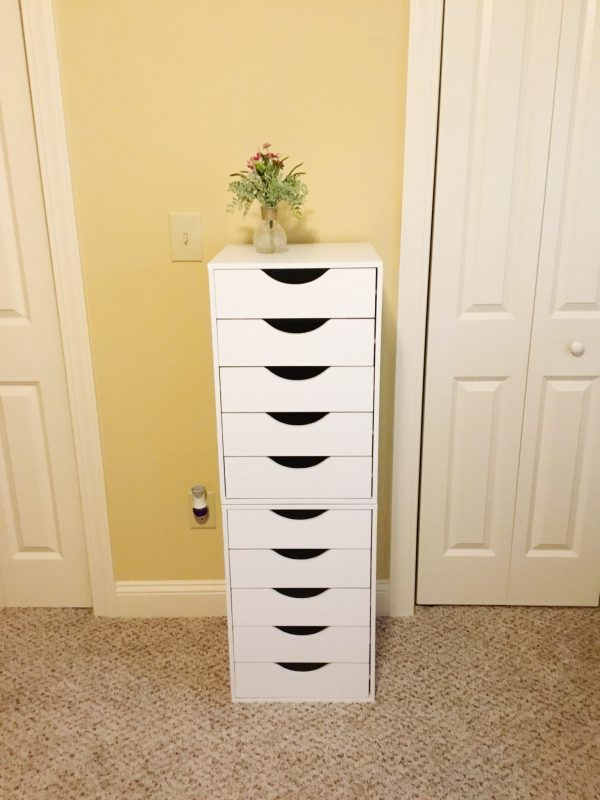 I saved $170 with this IKEA Alex 9 Drawer Dupe | 40andholding