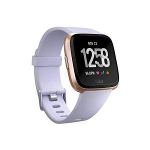 Fitbit Versa in Periwinkle & Rose Gold